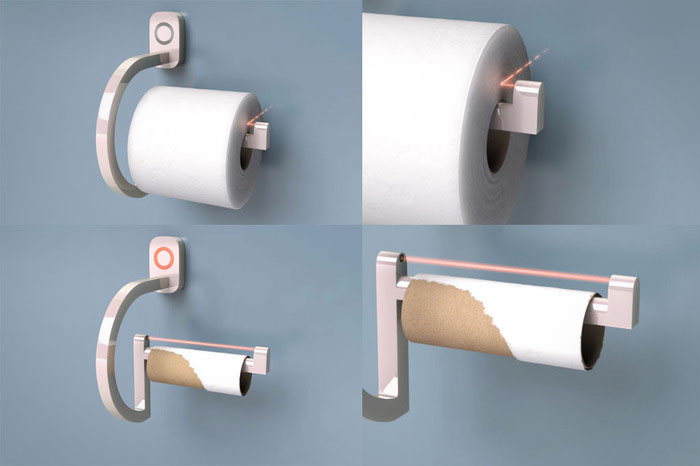 RollScout Toilet Paper Monitor