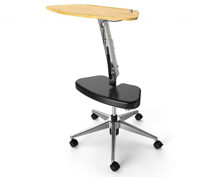 RoomyRoc Mobile Laptop Desk Lets You Lounge While You Work - Lounge/stand work desk