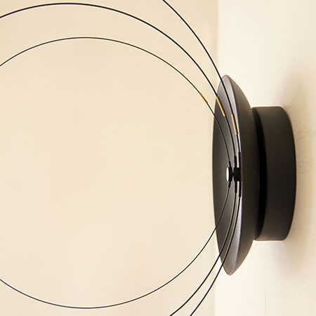 Rotating Orbits Clock