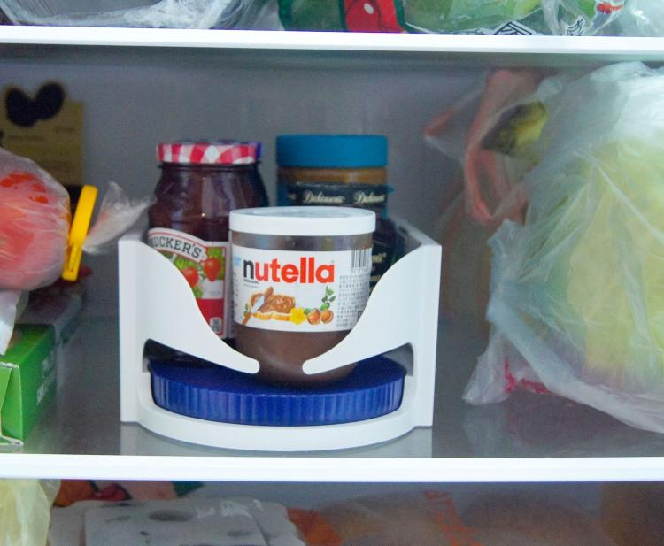 Roto Caddy: Mini Lazy Susan For In Cabinets and The Fridge