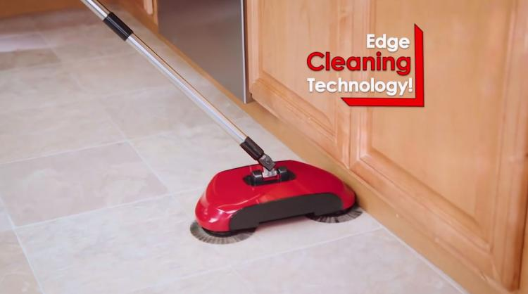 Roto Sweep A Floor Sweeper With Rotating Brushes