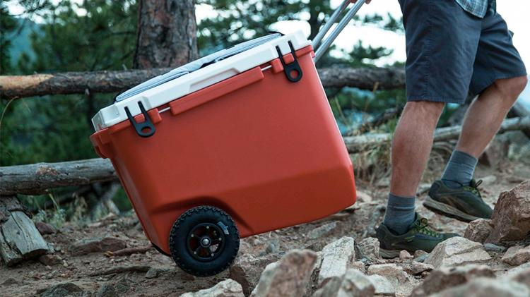 Rovr Roller Cooler - Bicycle Towable Cooler - Towable Bike Cooler