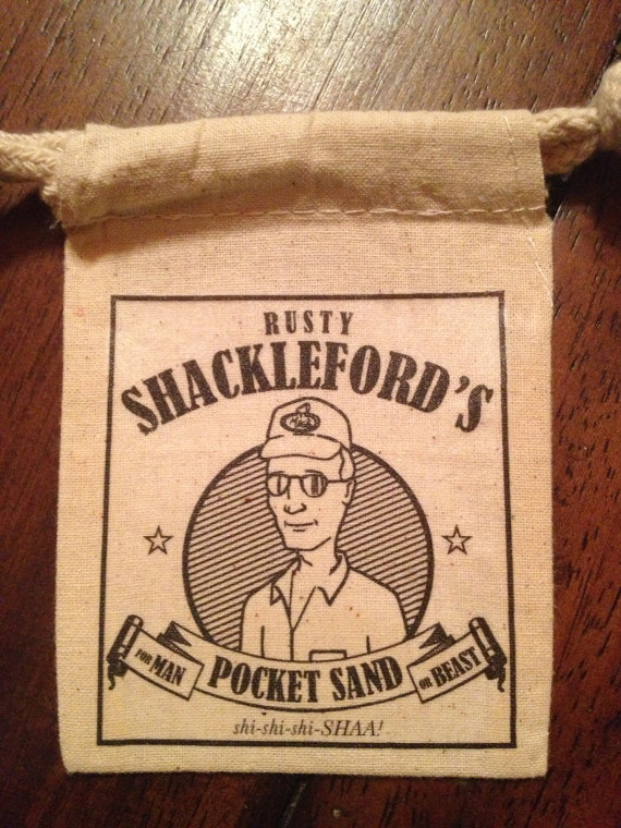 Rusty Shackleford S Pocket Sand