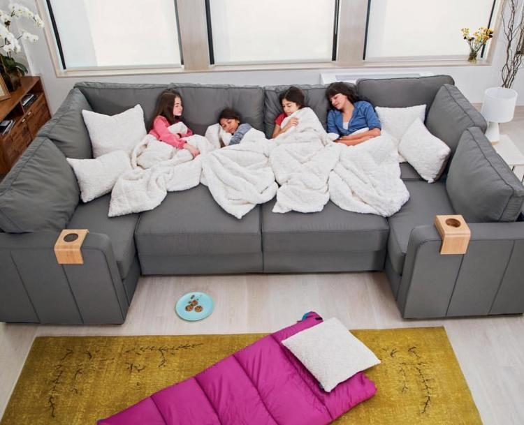 Lovesac Sactional: Modular Sectional Couch Lets You Create Any Seating Arrangement