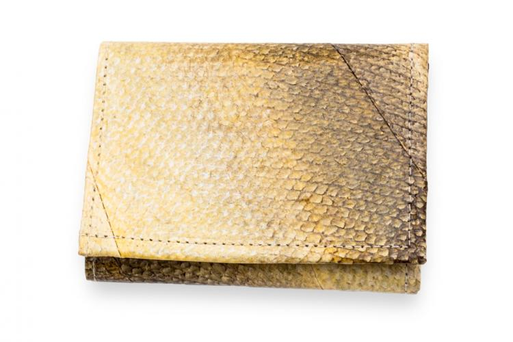 Salmon Wallets - Wallets Made From Real Alaskan Salmon Leather - Fish Scale Wallets
