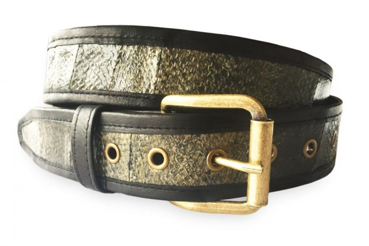 Salmon Belt- Belts Made From Real Alaskan Salmon Leather - Fish Scale Belts