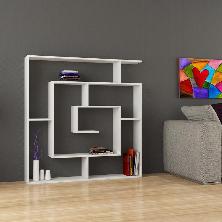 Salyangoz: A Modern Maze-Like Wall Shelf