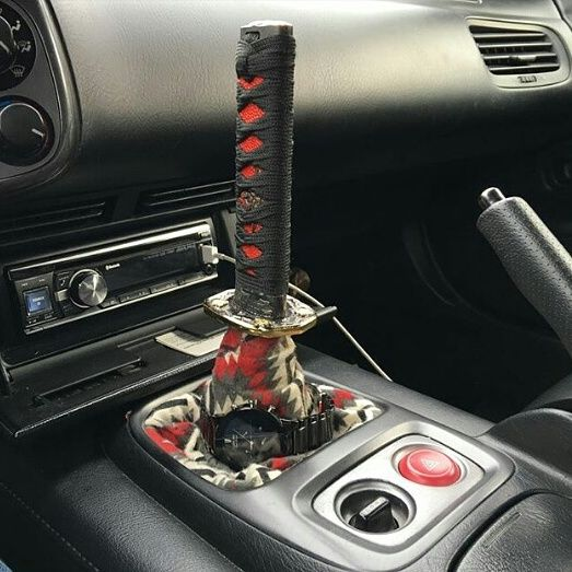 Samurai Sword Gear Stick Shifter - Katana handle transmission shift knob