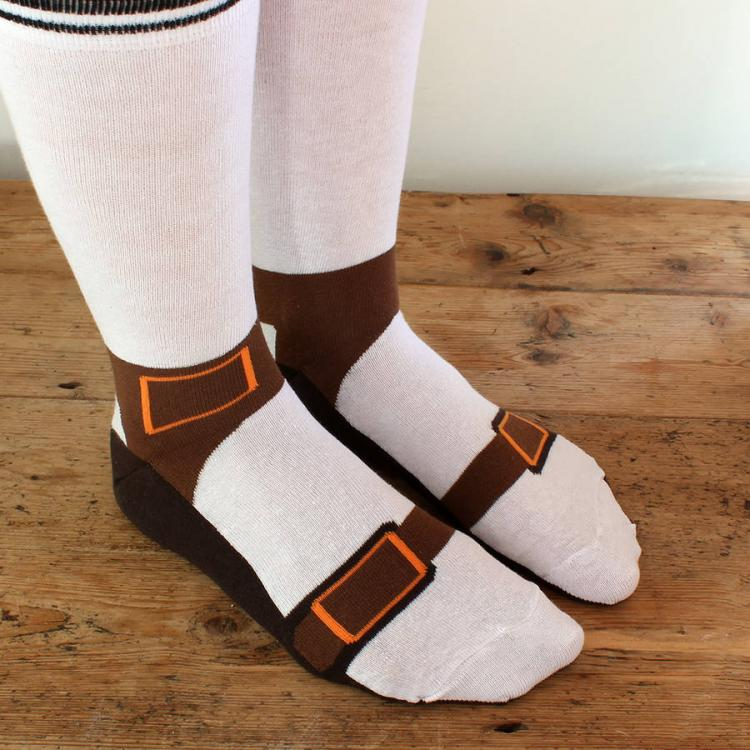 Sock Sandals - Socks Make It Look Like You're Wearing Birkenstock Sandals- Sandal Socks