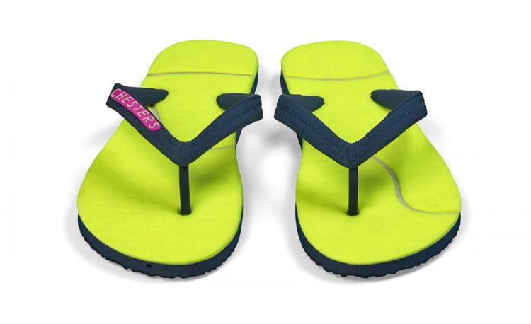 Sandals Made From Tennis Ball Felt