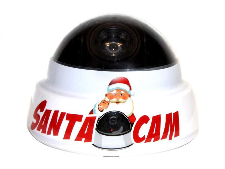 Santa Cam - Fake Camera Prop Santa Camera - Keeps kids on best behavior for Christmas