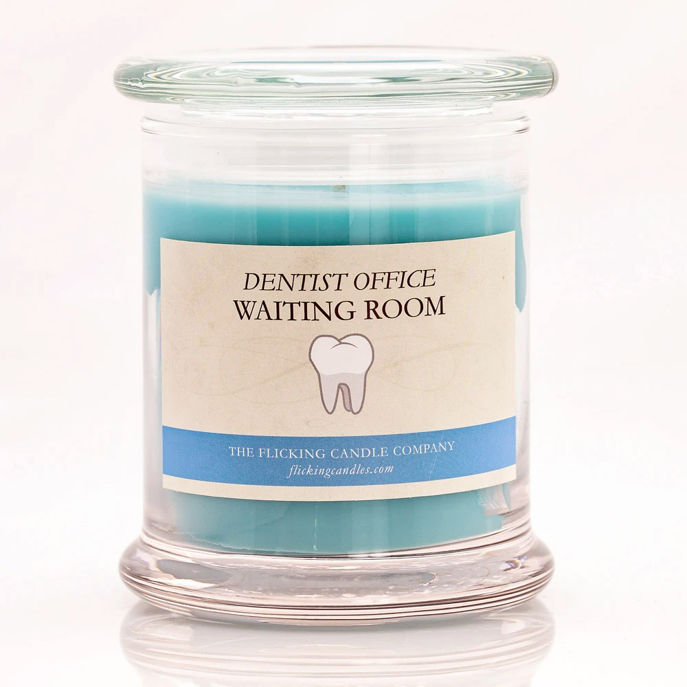 Dentist Waiting Room Funny Scented Candle