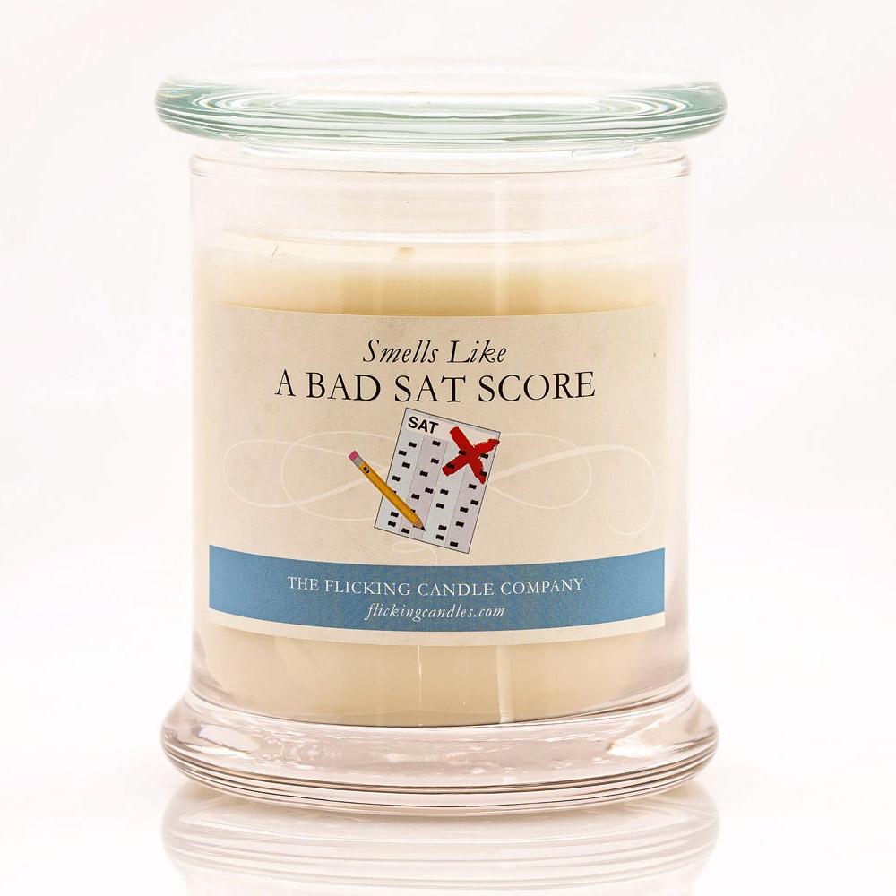 Bad SAT Score Funny Scented Candle
