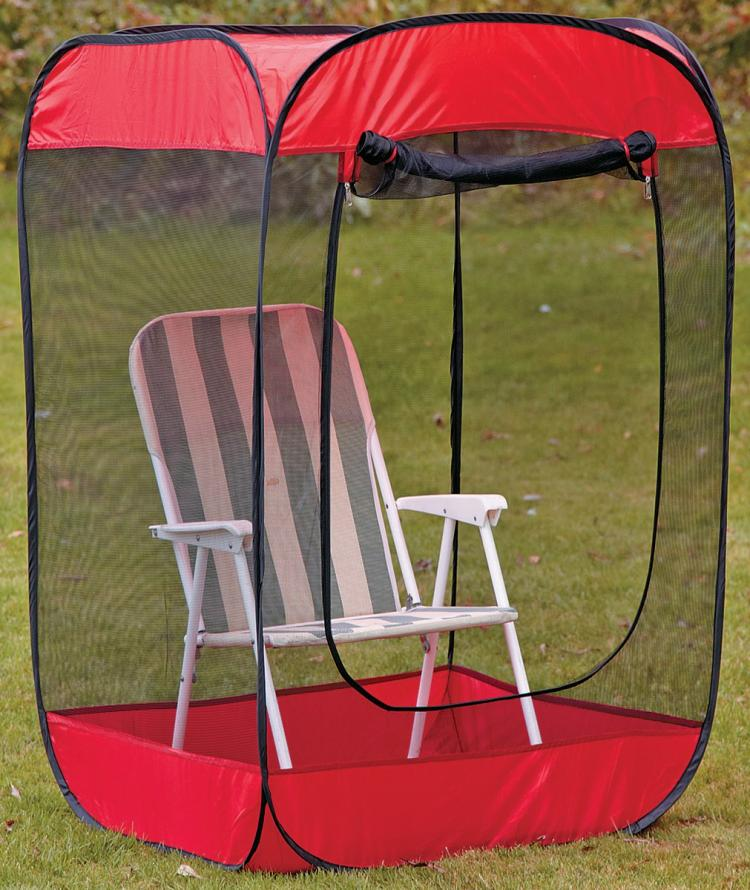 Screen Pod - Personal Pop-Up Screen Chair Tent - 1 Person screen tent