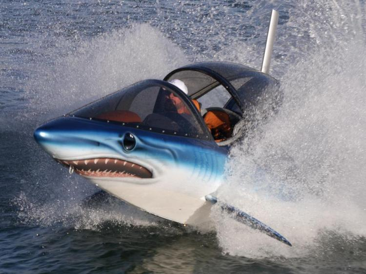 SeaBreacher Dolphin Inspired Jet Powered Watercraft Submarine Hybrid