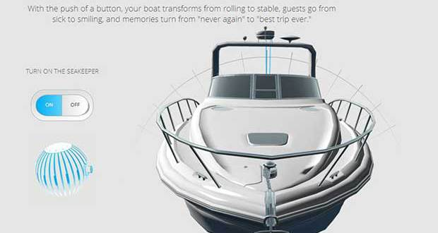 Seakeeper: Gyroscopic Boat Stabilizer Prevents Boat Rocking
