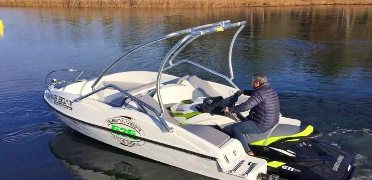 Sealver Waveboat Turns Your Jetski Into a Boat In Seconds