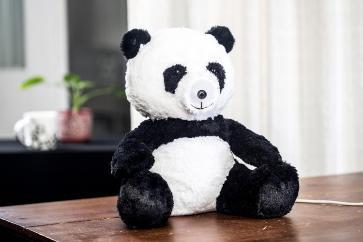 Dropcam Accessories - Hide camera in stuffed bear
