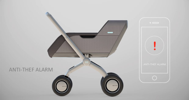 Smartbe - Self Driving Smart Baby Stroller