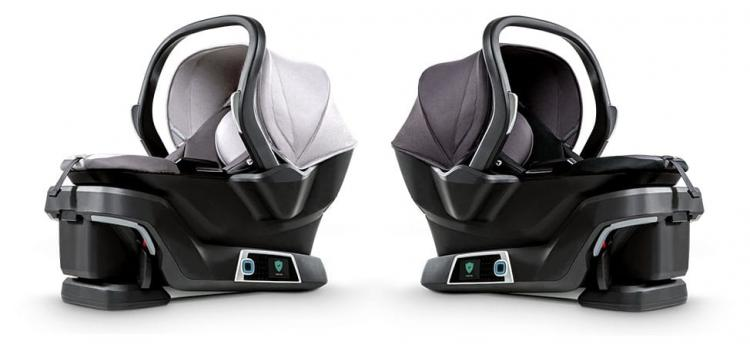 4Moms Self Installing Car Seat - Robotic Smart Car Seat Installs Itself