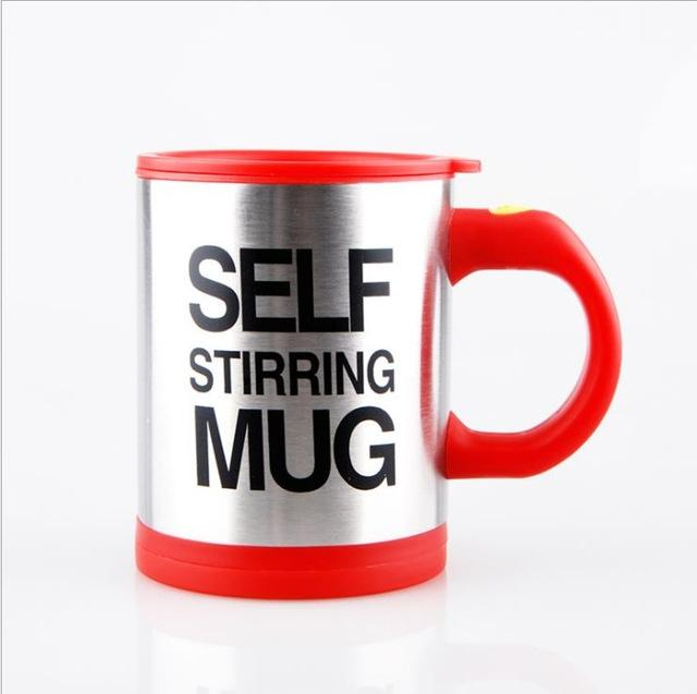 Self-Stirring Electronic Coffee Mug - Coolest Coffee Mug
