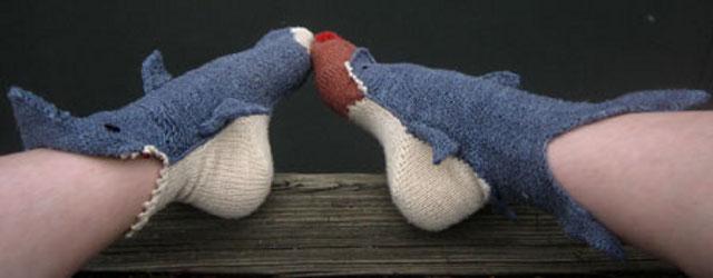 Shark Socks Biting Your Feet