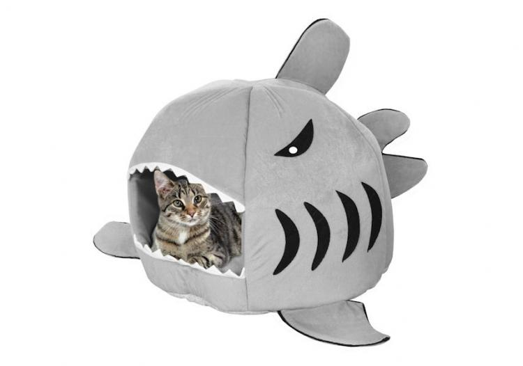 Shark Shaped Dog/Cat Bed