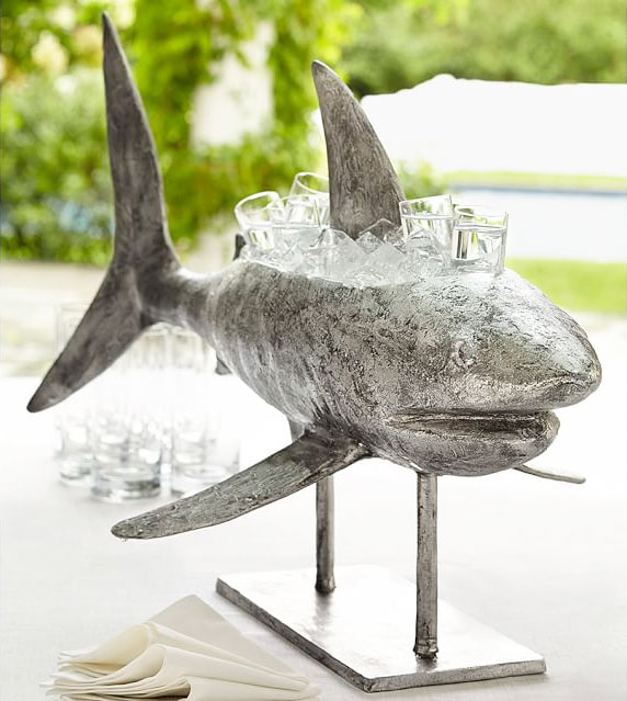 shark shaped beverage cooler