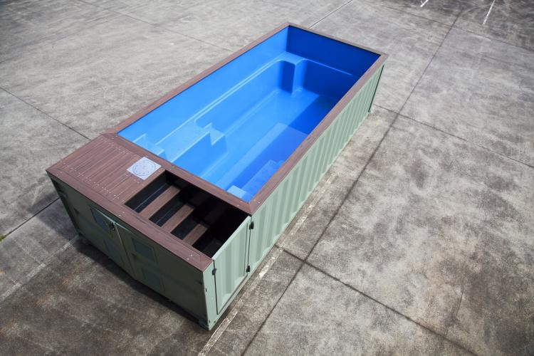 Shipping Container Pools - Swimming Pools Made from shipping containers
