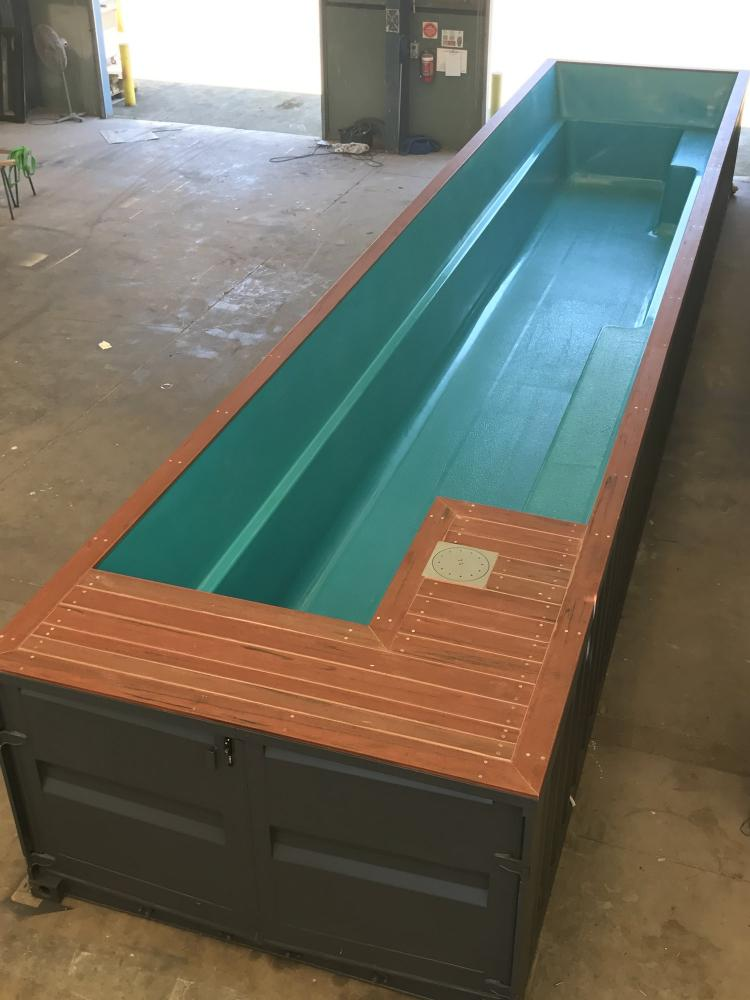 This Company Makes Pools Out Of Shipping Containers And