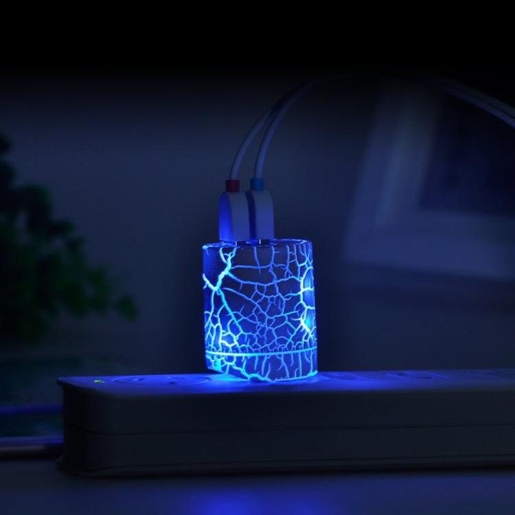 Electric Show Glowing Phone Charger - Momen Glowing Wall Charger Adapter