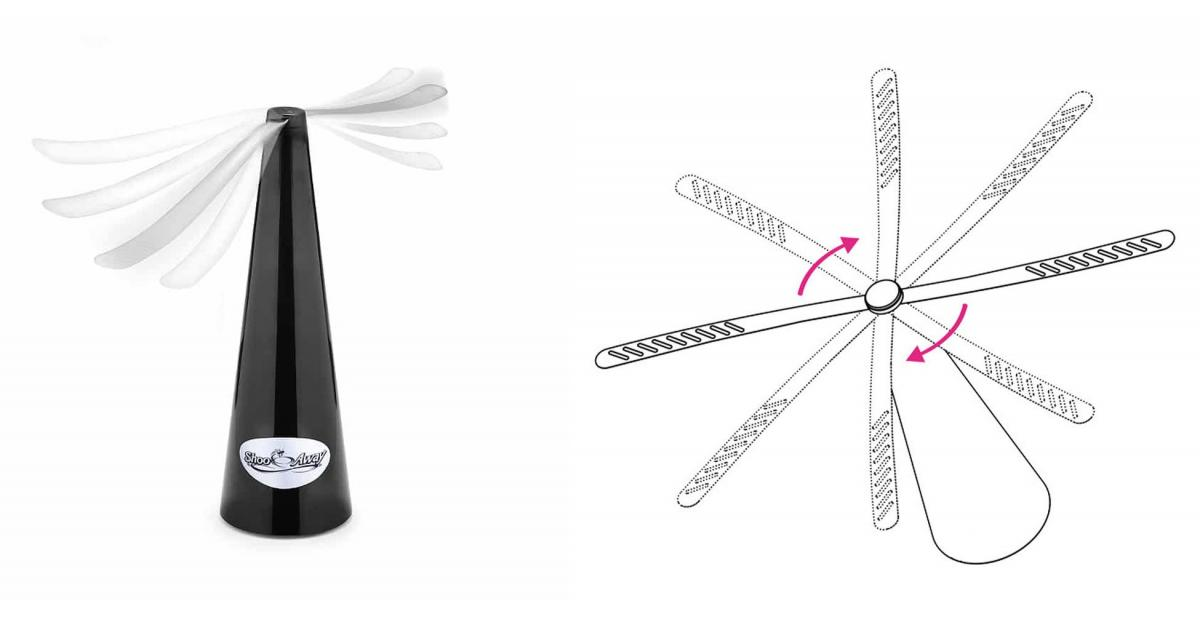 Genius Automatic Fly Repelling Fan Keeps Bugs Out Of Your Food While Eating Outdoors - Shooaway Automatic fly trap fan