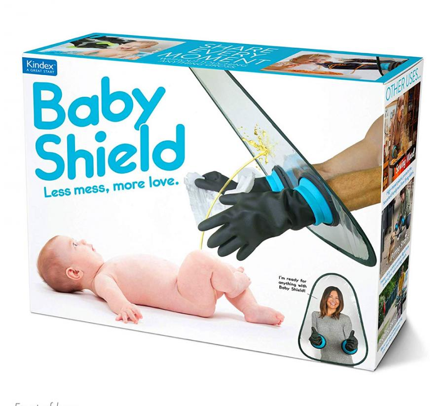 Baby Shield Prank Box