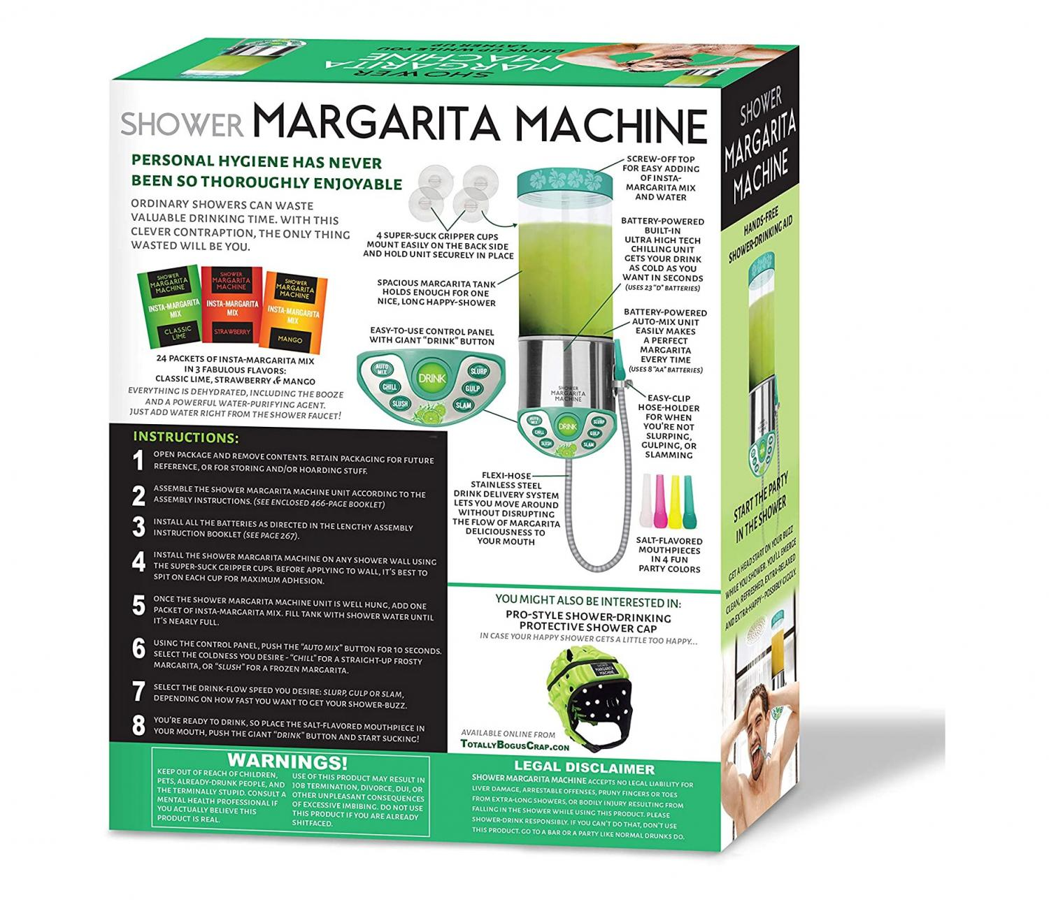Shower Margarite Machine - Wall mounted margarita machine for shower