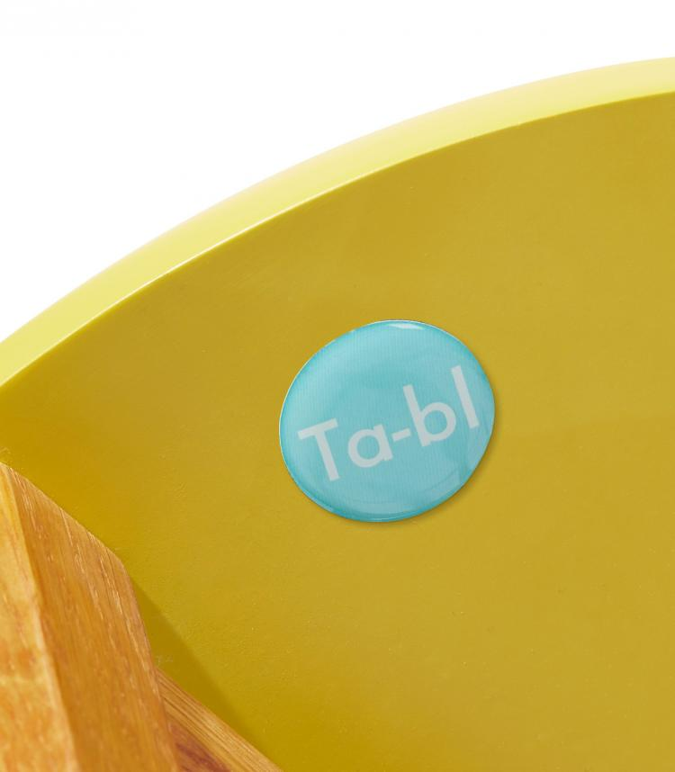 Ta-bl Collapsible Side Table Folds Down To 4.7 inches Wide
