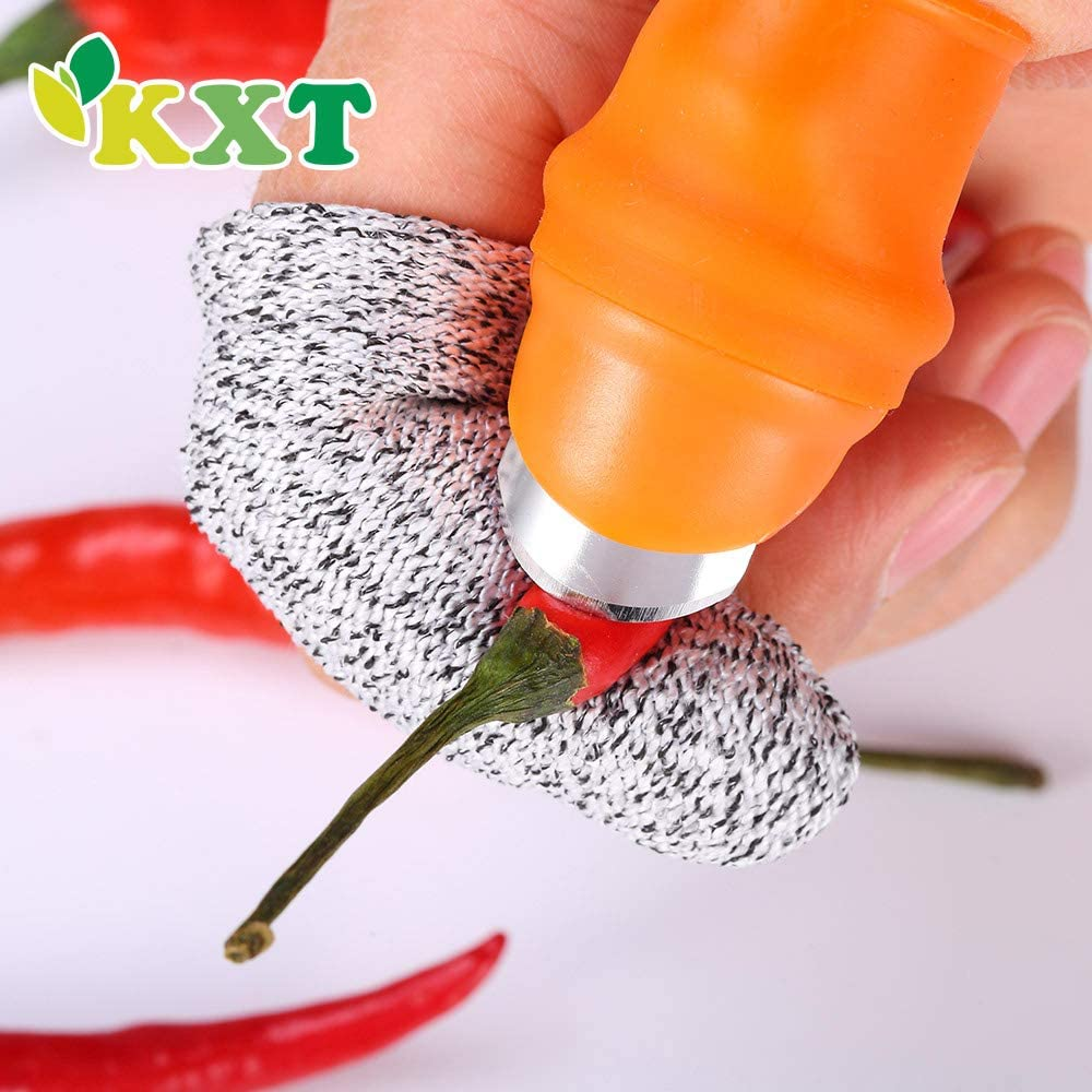 Silicone Thumb Knife - Clever silicone thumb blade gardening and pruning tool