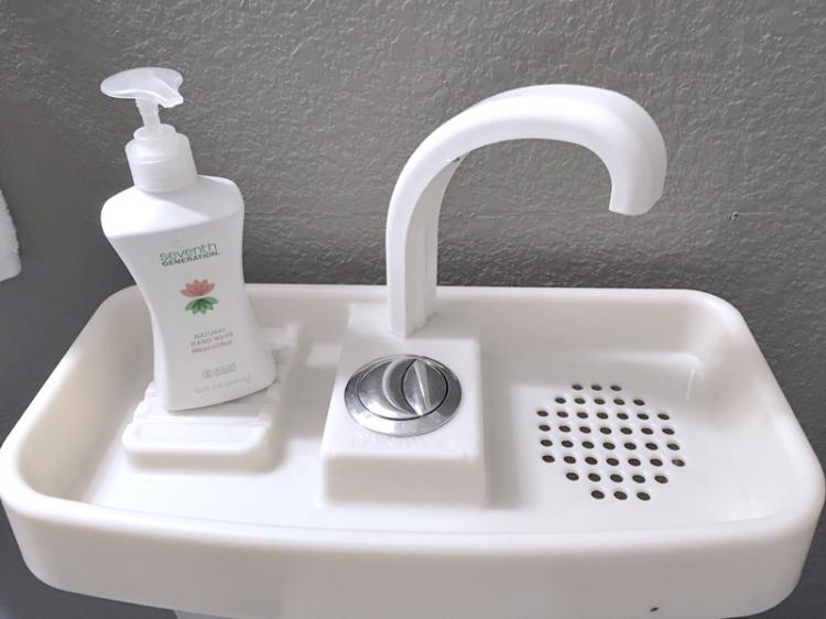 SinkTwice - Toilet Sink - Saves Water - Recycles Water Through Toilet