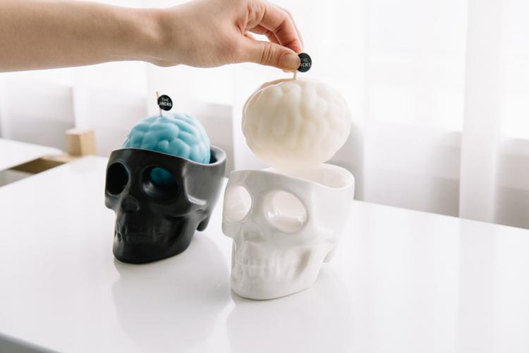 Crying Skull Candles