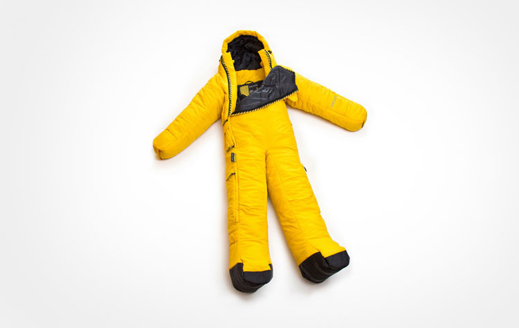 Sleeping Bag With Legs