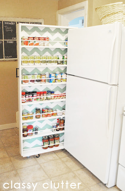DIY Super-Thin Slide-Out Pantry - 6 Inch Pantry