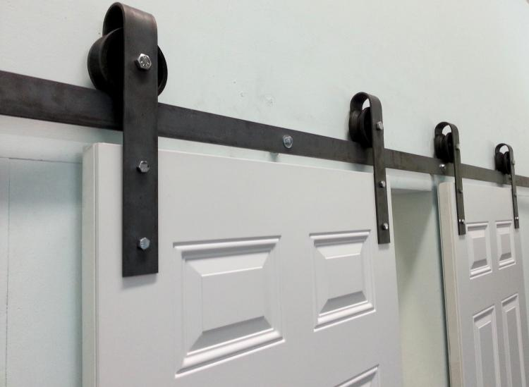 Sliding Double Barn Door Kit
