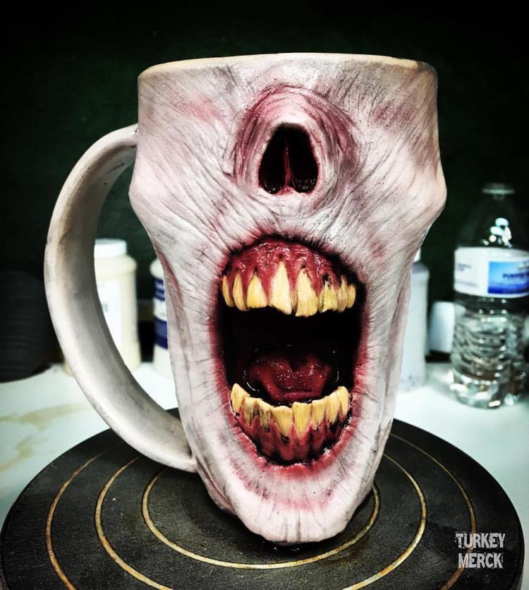 The Slow Joe Zombie Mugs Are Amazingly Realistic Zombie