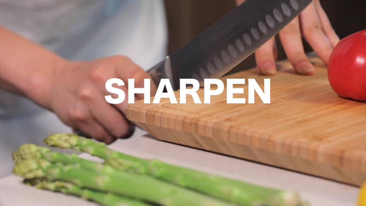 Smart Chop Smart Cutting Board With built-in scale, timer, knife sharpener, knife sanitizer