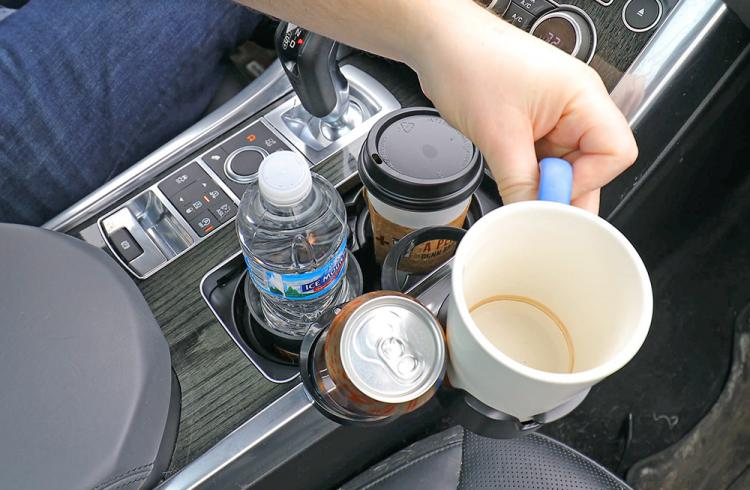 Smart Multi-Cup Car Cup-Holder and Storage - Auto Multi-Cup Holder Case