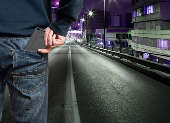 Ideal Conceal - Hand Gun That Looks Like a Smart Phone