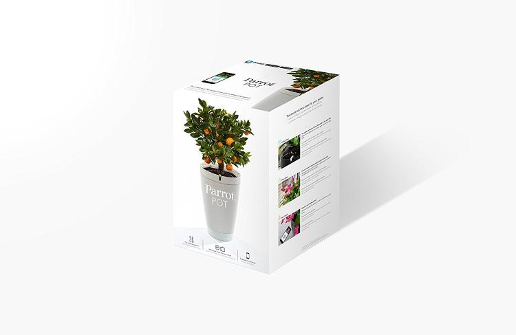 Parrot Smart Watering Pot - Automatic Plant Watering Pot - Smart Phone Plant Pot