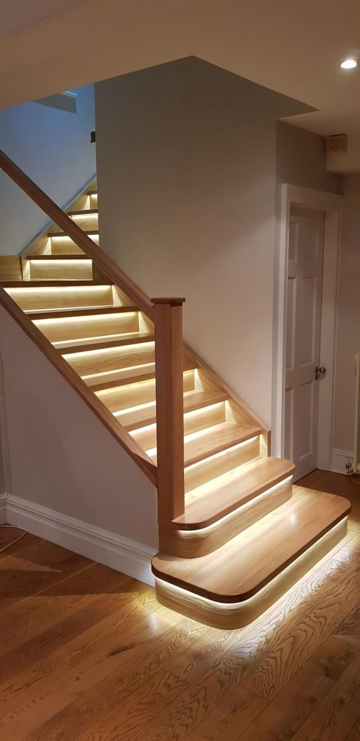 Smart Stair Lights - Intelligent stair led lights turn on when you walk