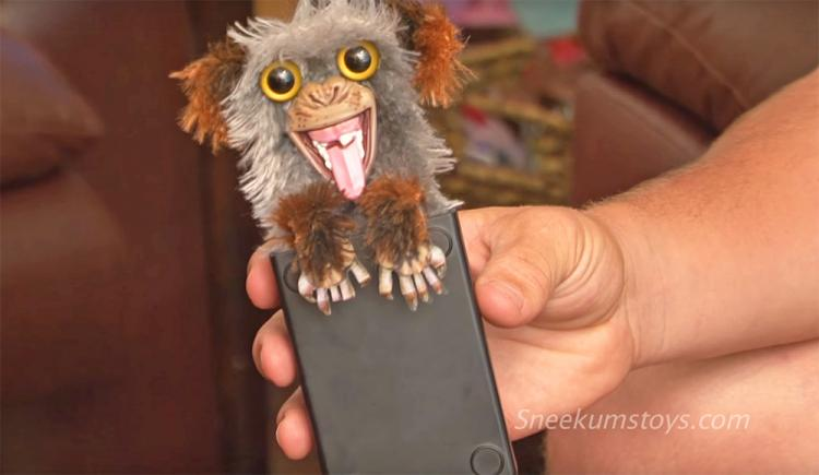 Sneekums Pop-up Prank Monkey Toy