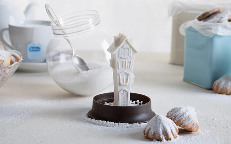 Sugar House - Snow Globe Sugar Canister