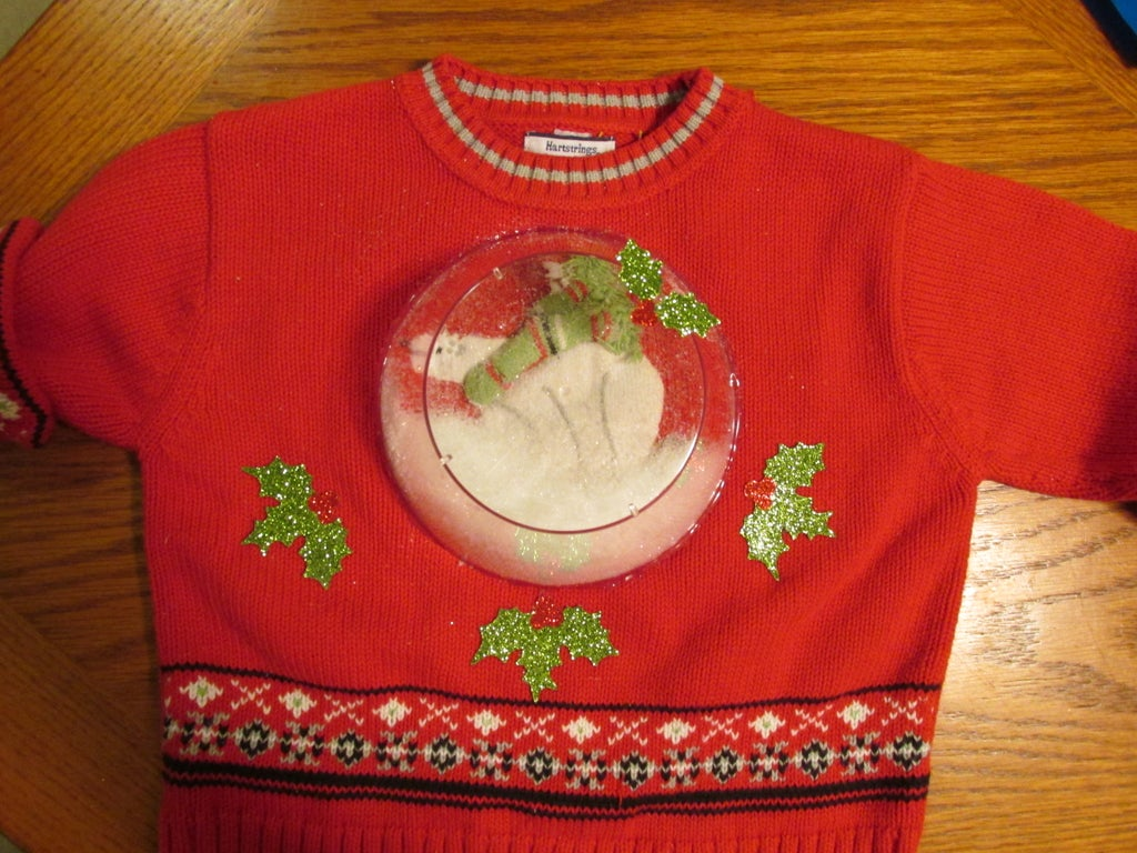 Snow Globe Ugly Christmas Sweater For Dogs - Dog ugly sweater